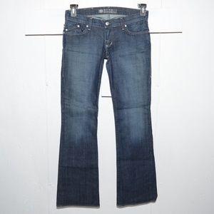 Rock $ republic flare womens jeans size 28 L 8790